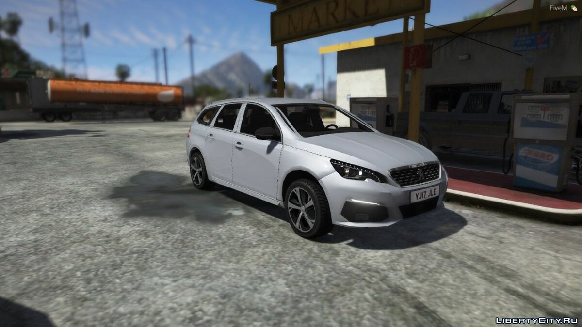 Peugeot car 2019 Peugeot 308 for GTA 5