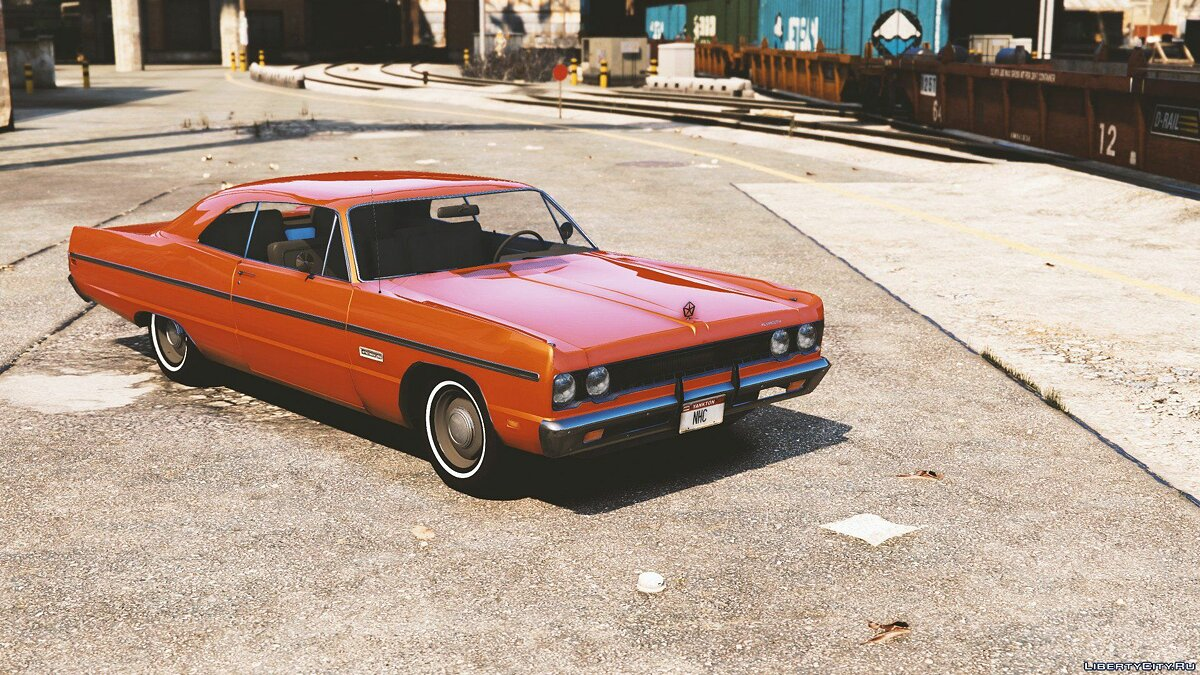 Plymouth car Plymouth Fury III '69 [Add-On] 1.0 for GTA 5
