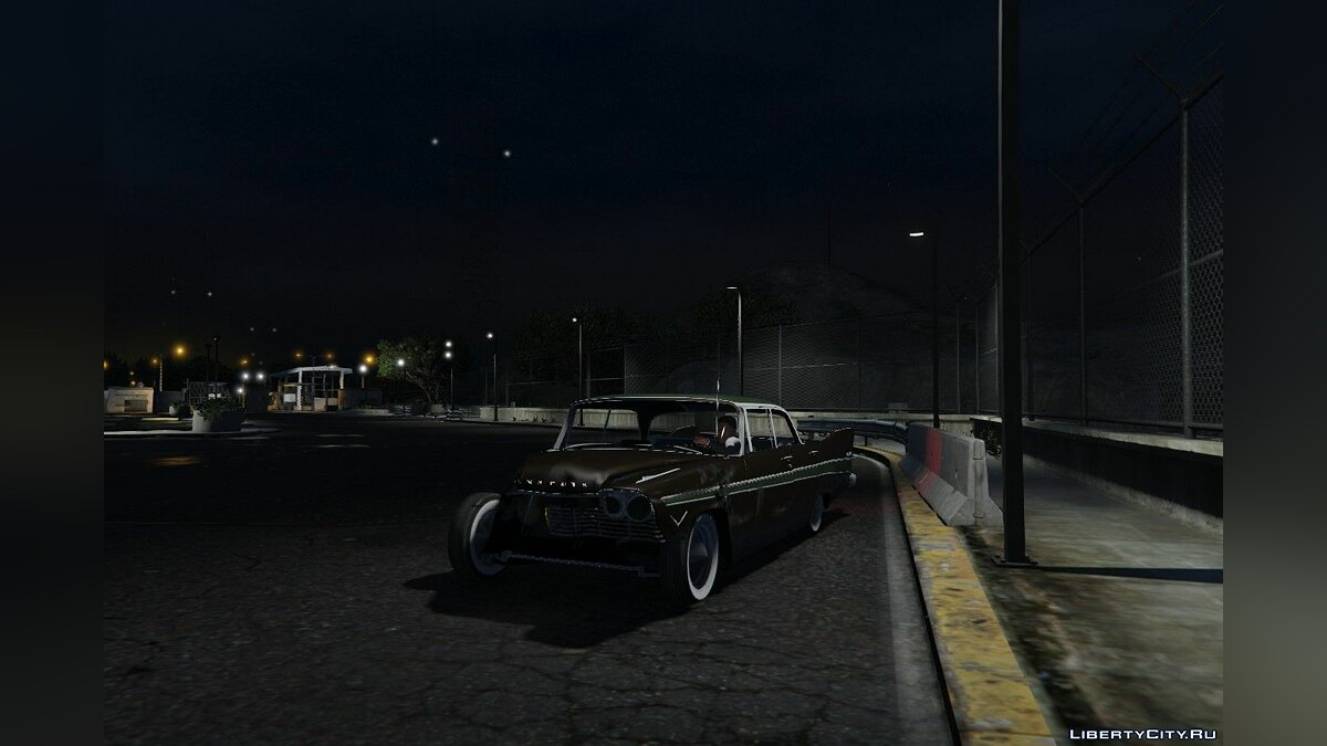 Plymouth car Plymouth Belvedere 4dr sedan 1957 v0.2 for GTA 5