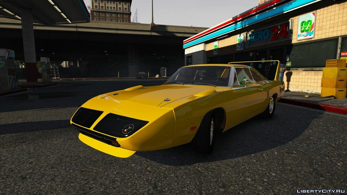 Plymouth car Plymouth Roadrunner Superbird (RM23) '1970 [Add-On | Tuning] for GTA 5