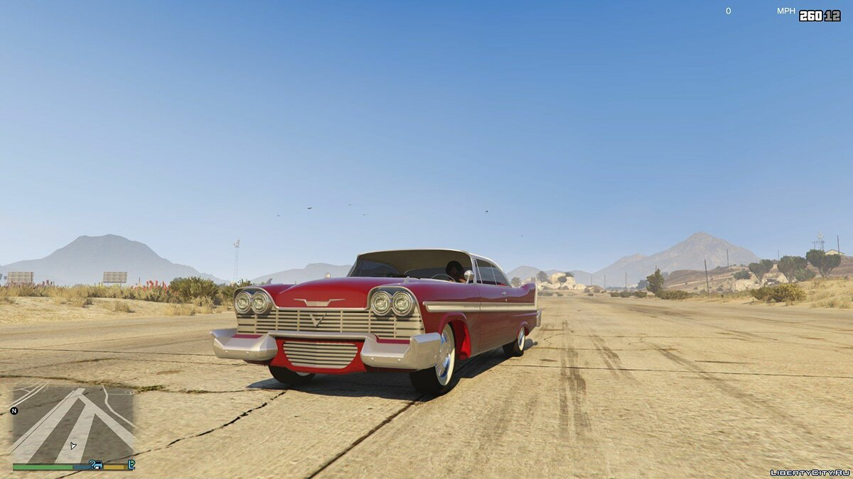 Plymouth car Christine '58 Plymouth [Add-On] for GTA 5