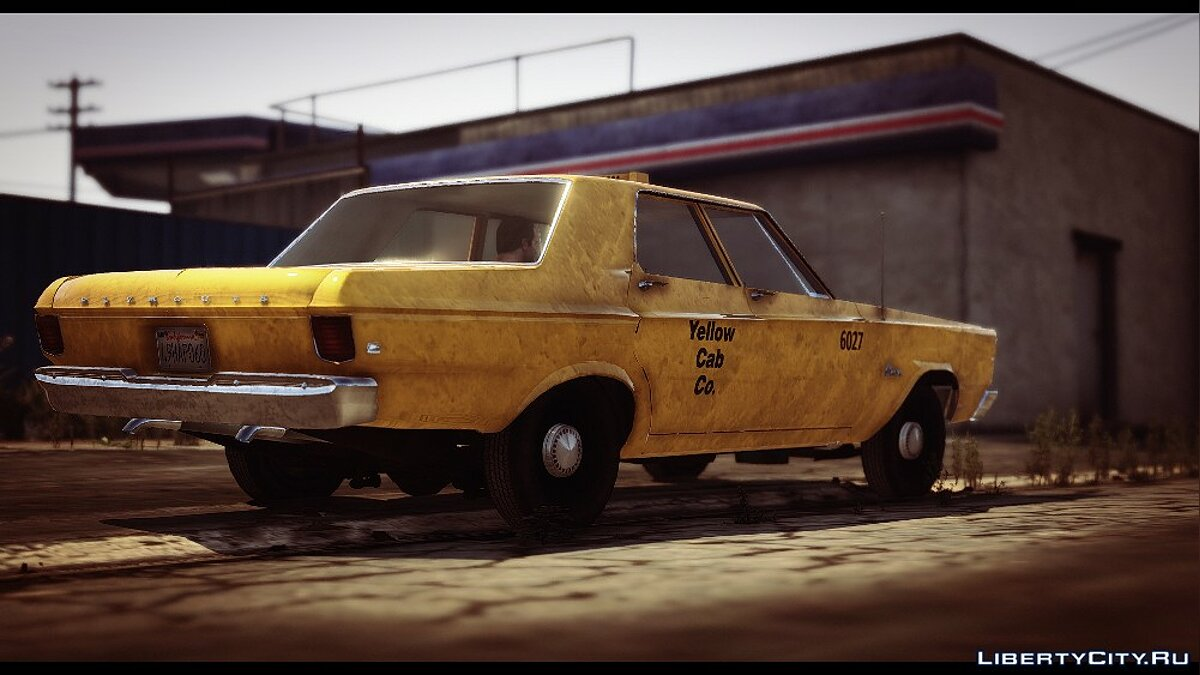 Plymouth car Plymouth Belvedere 1965 Taxi for GTA 5