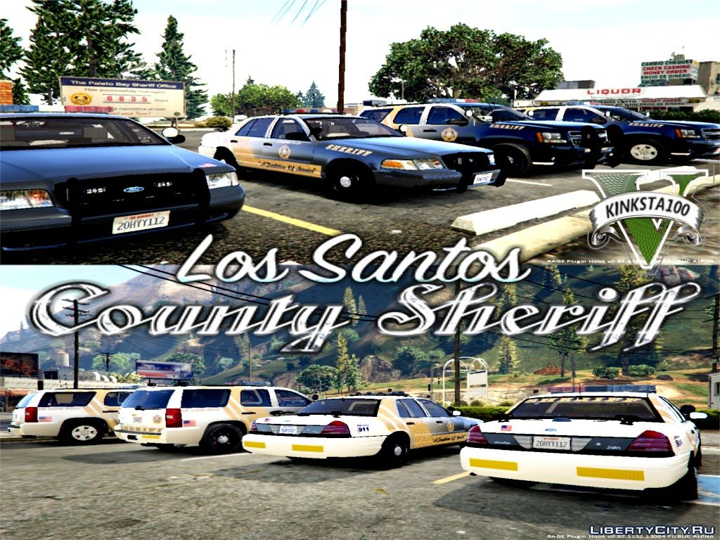 Gta 5 Los Santos County Sheriff Pack ELS 1 0 for GTA 5