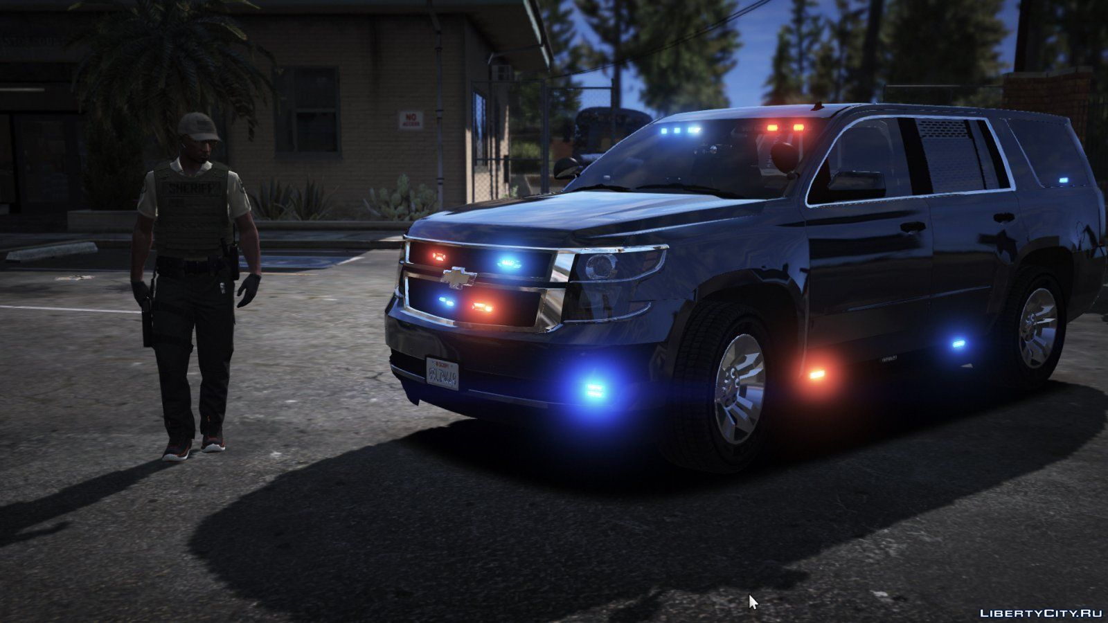 Unmarked (ELS) 2015 Chevy Tahoe PPV 1 0 for GTA 5