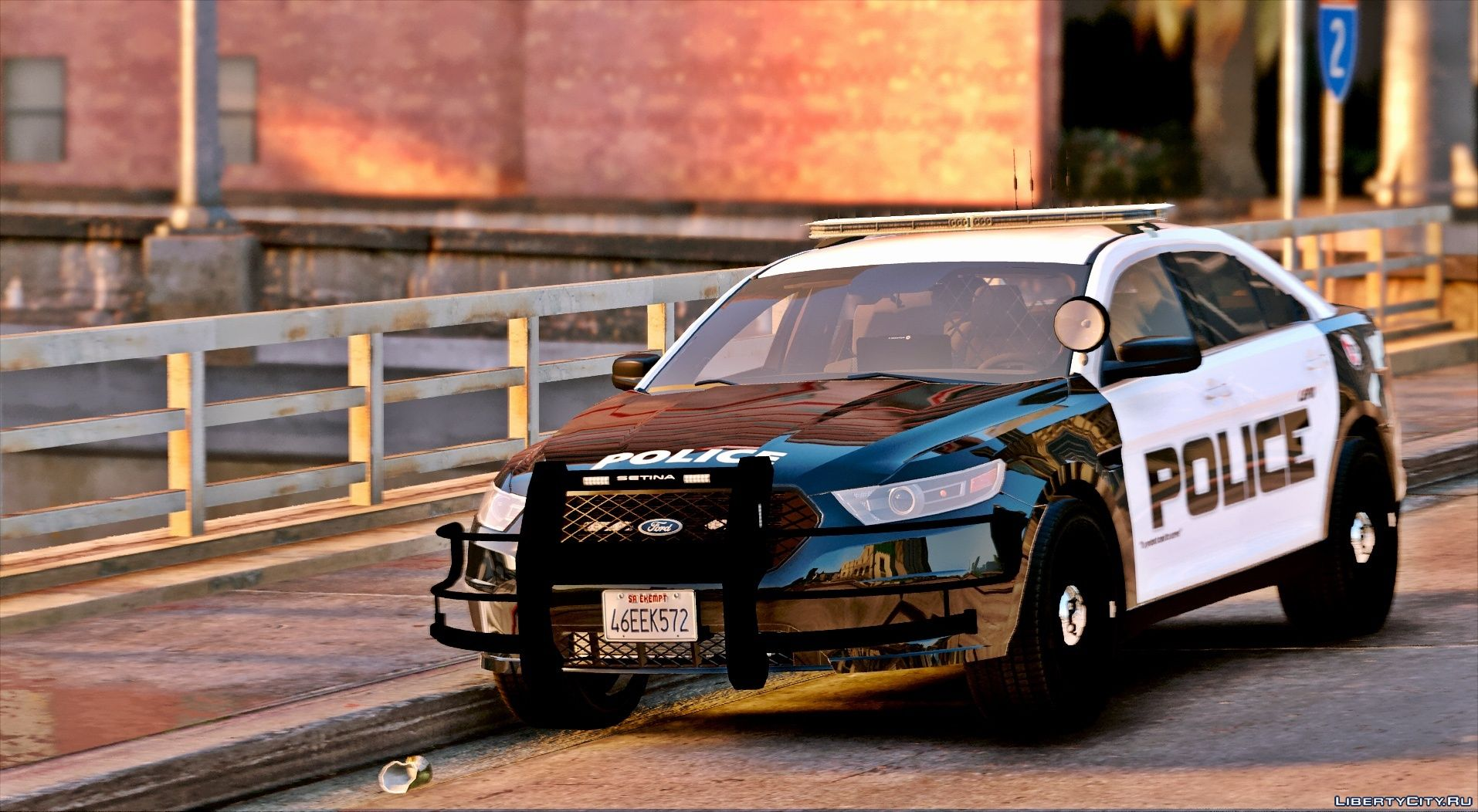 2016 Los Santos Police FPIS [ELS] for GTA 5