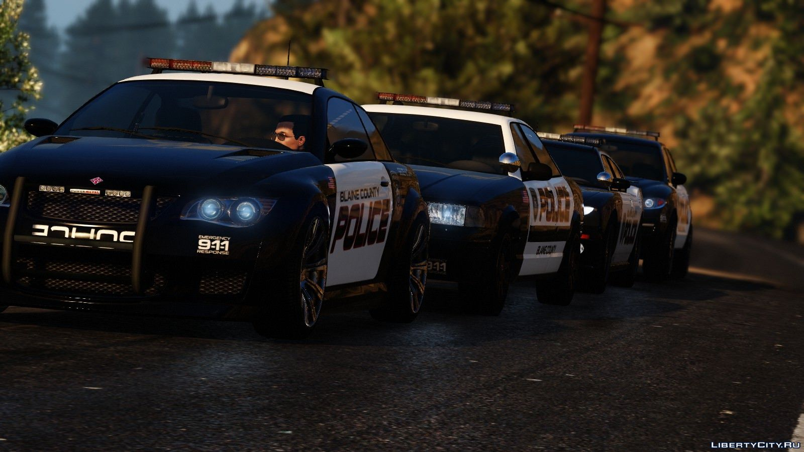Pak Police Cars From Need For Speed Hot Pursuit For Gta 5