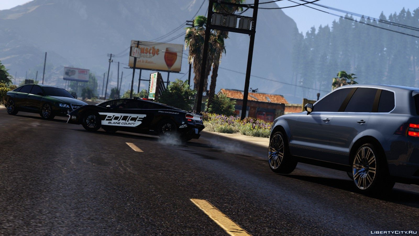 Pak police cars from Need for Speed: Hot Pursuit for GTA 5