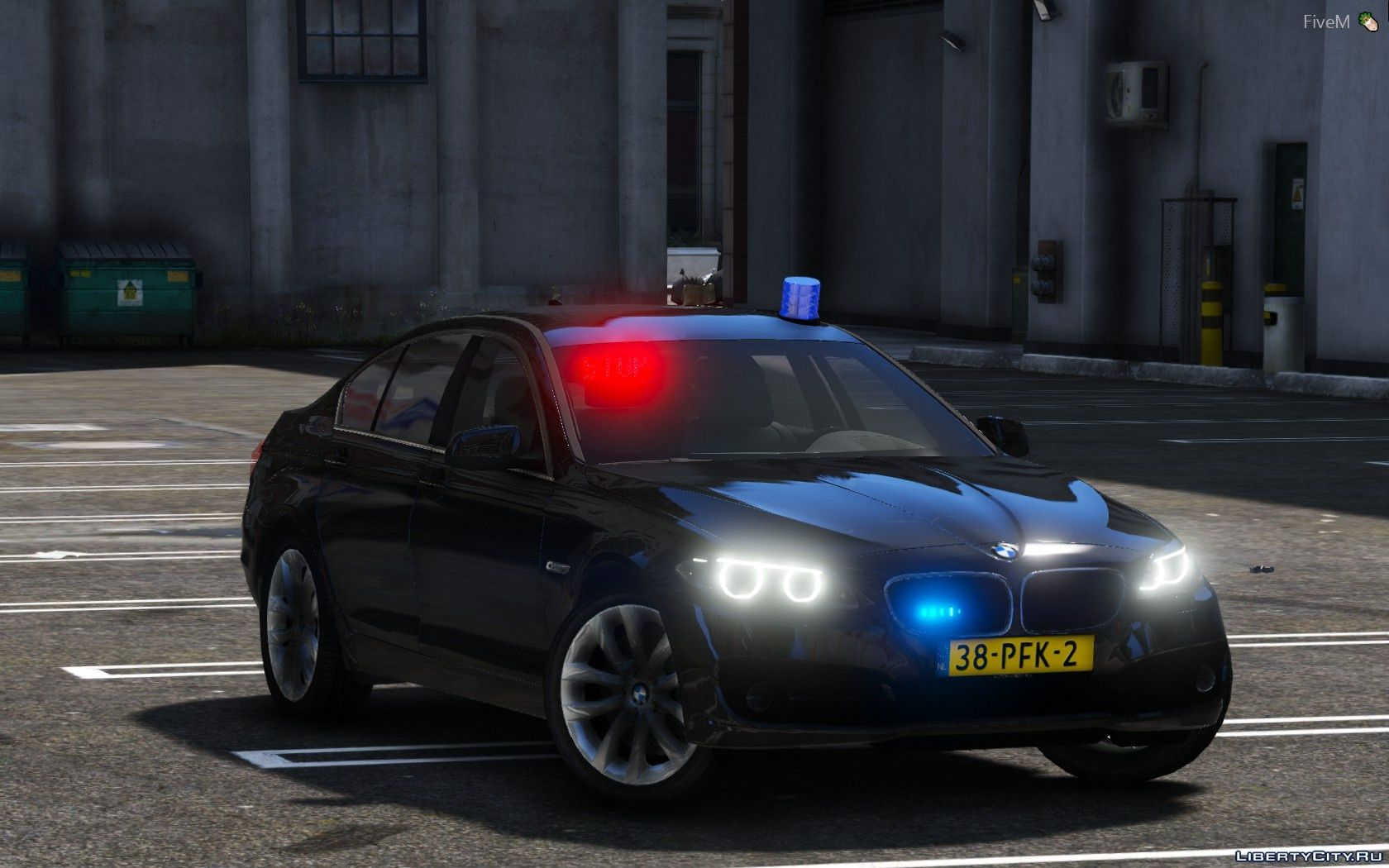 Replacement of police4 yft in GTA 5 (72 file)