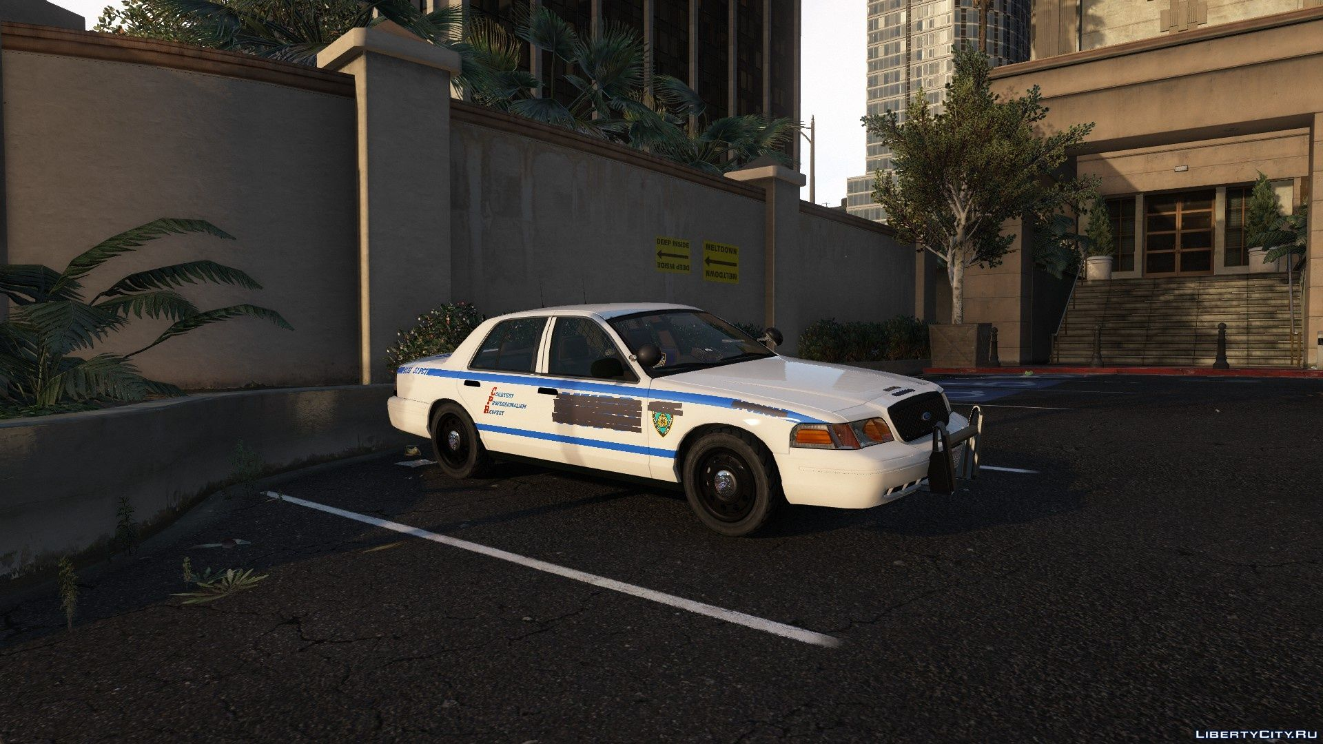 Ford NYPD CVPI [ADDON] 1 0 for GTA 5