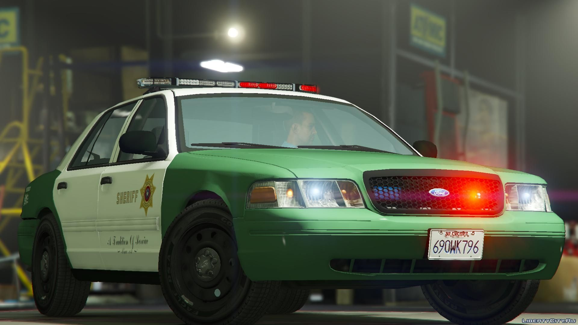 Replacement Of Sheriff Yft In Gta 5 50 File