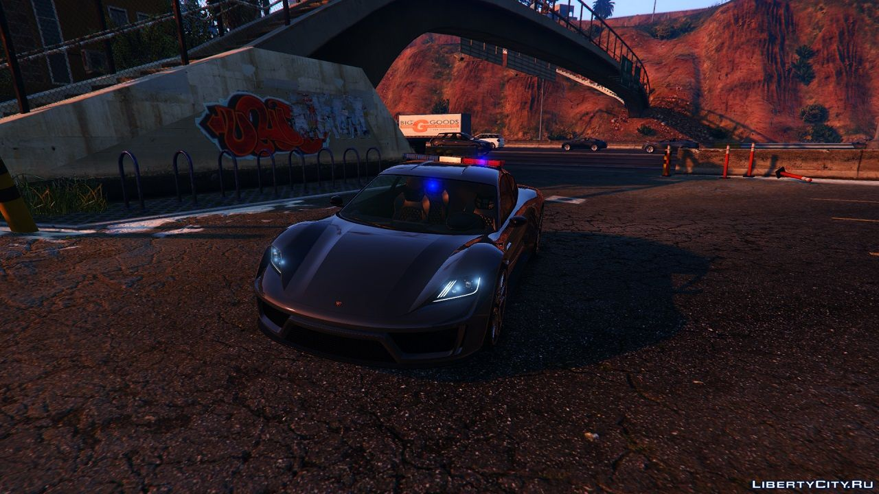 Pfister Neon Police [ADDON / REPLACE] for GTA 5