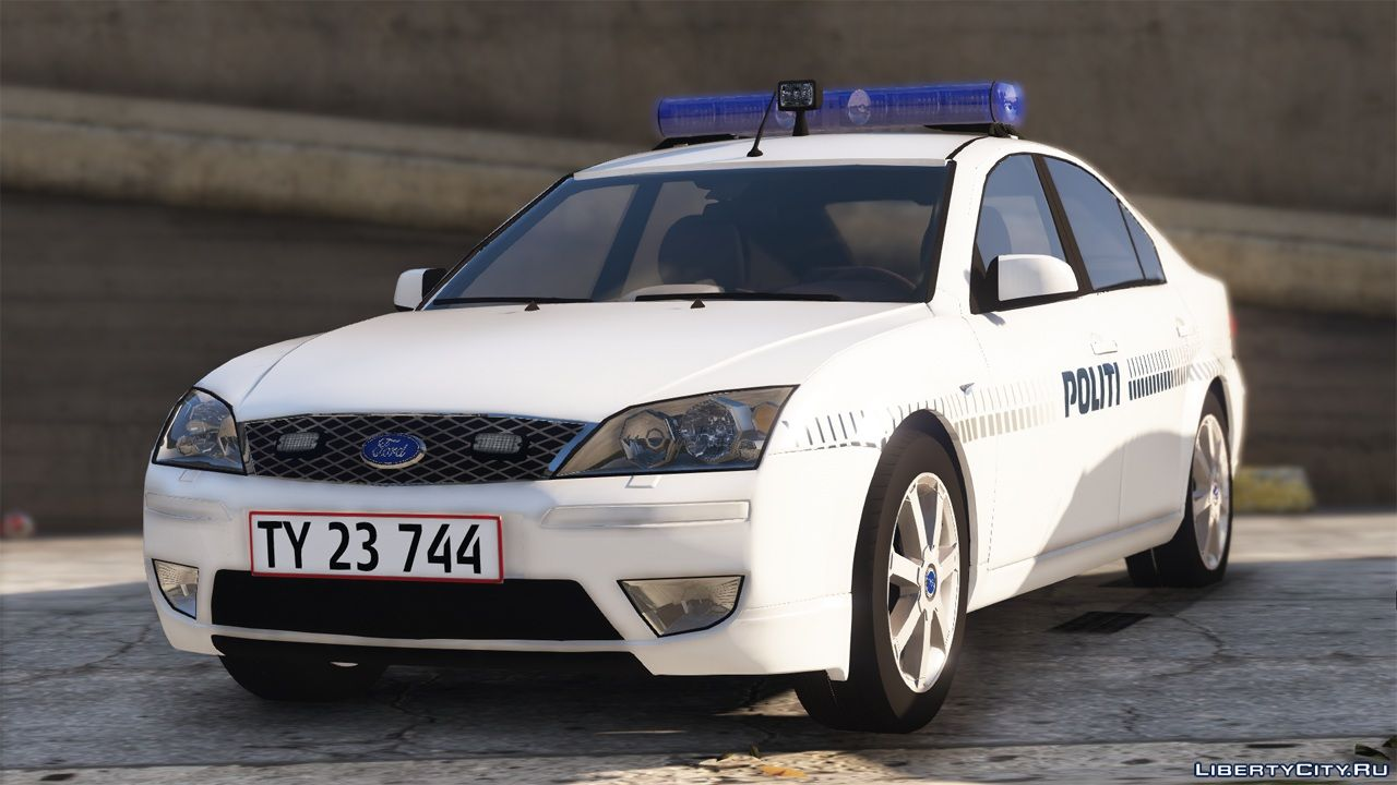 2003 Ford Mondeo - Danish Police - Mini Pack [REPLACE / OIV