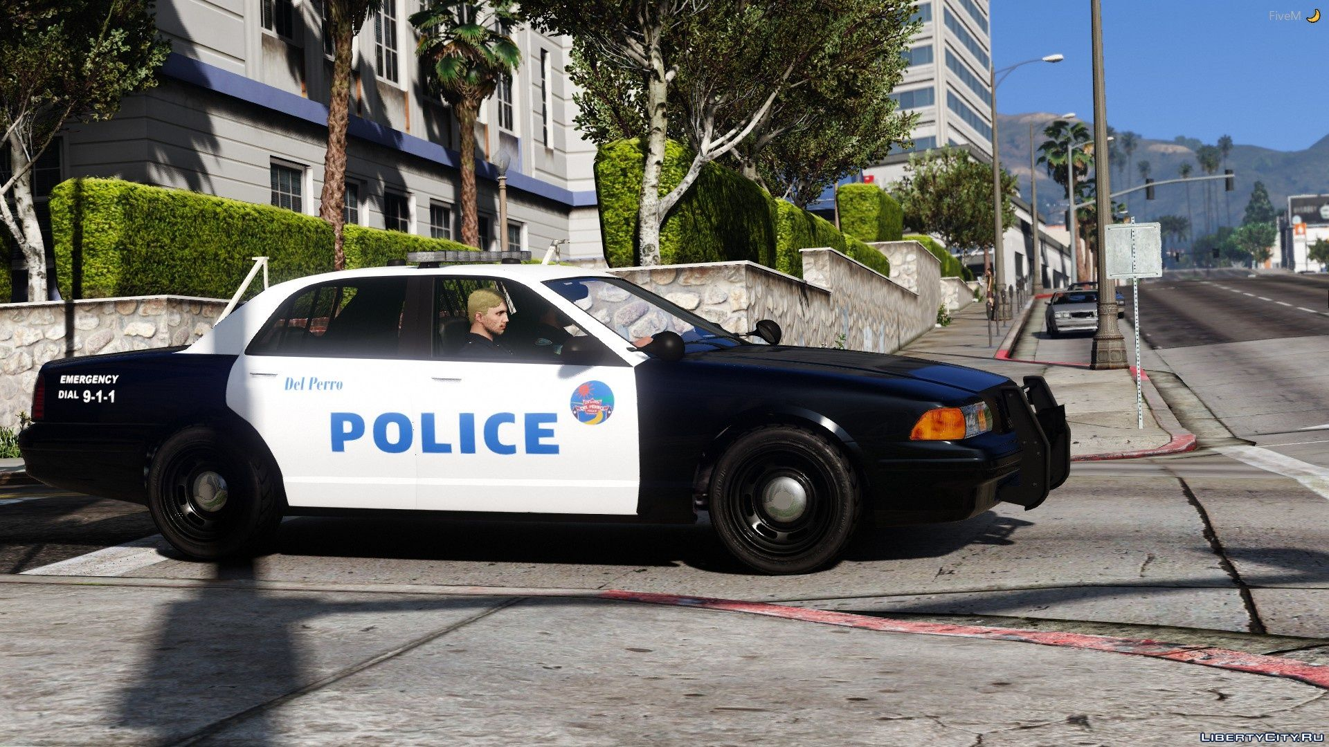 Del Perro Police Dept  Vehicle Pack [Add-On] 1 0 for GTA 5