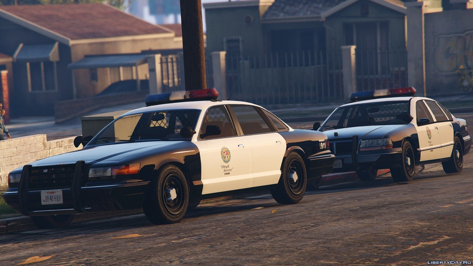 Vapid Stanier & Declasse Premier Police Cruisers for GTA 5
