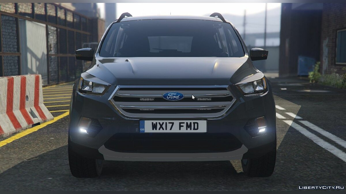Police car Unmarked Ford Kuga 1.0 for GTA 5