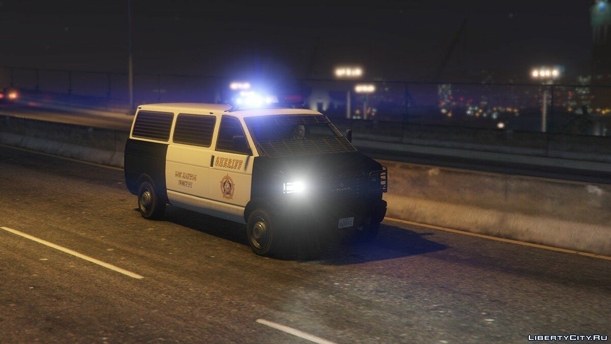 Police car LSSD Declasse Burrito [Add-On | TP+ Misc | Featured] 1.0 for GTA 5