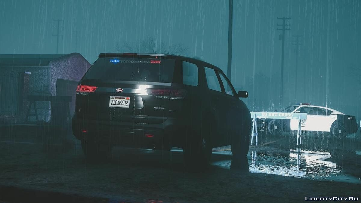 Police car Unmarked Vapid Police Cruiser Utility (Scout) [Add-on] 1.0 for GTA 5
