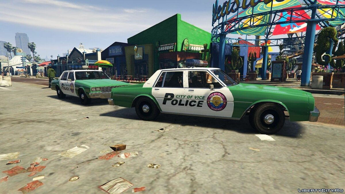 Police car Declasse Merit Classic VCPD [Add-On] 1.0 for GTA 5