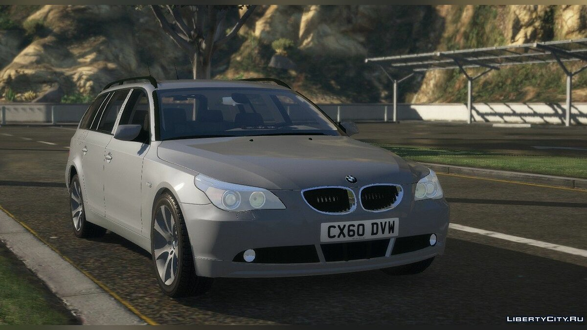 Police car Unmarked Roads Policing Unit BMW E61 [ELS | Replace] 1.0 for GTA 5