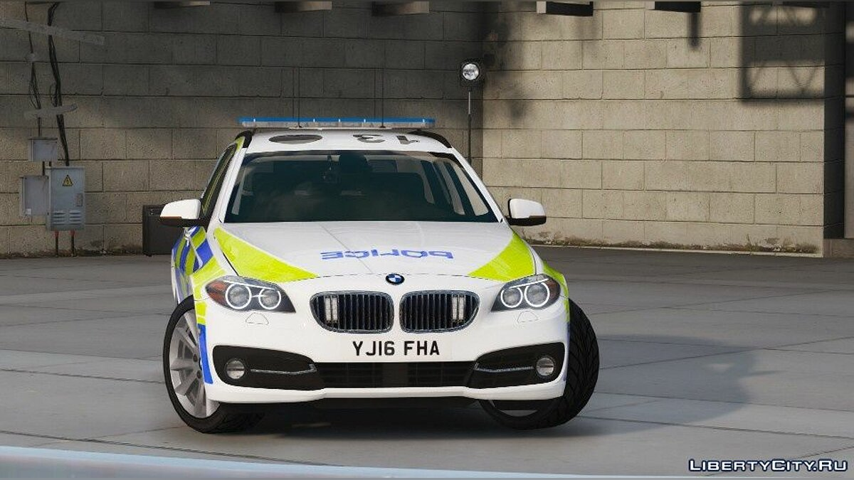 Police car Police BMW 525D Touring for GTA 5