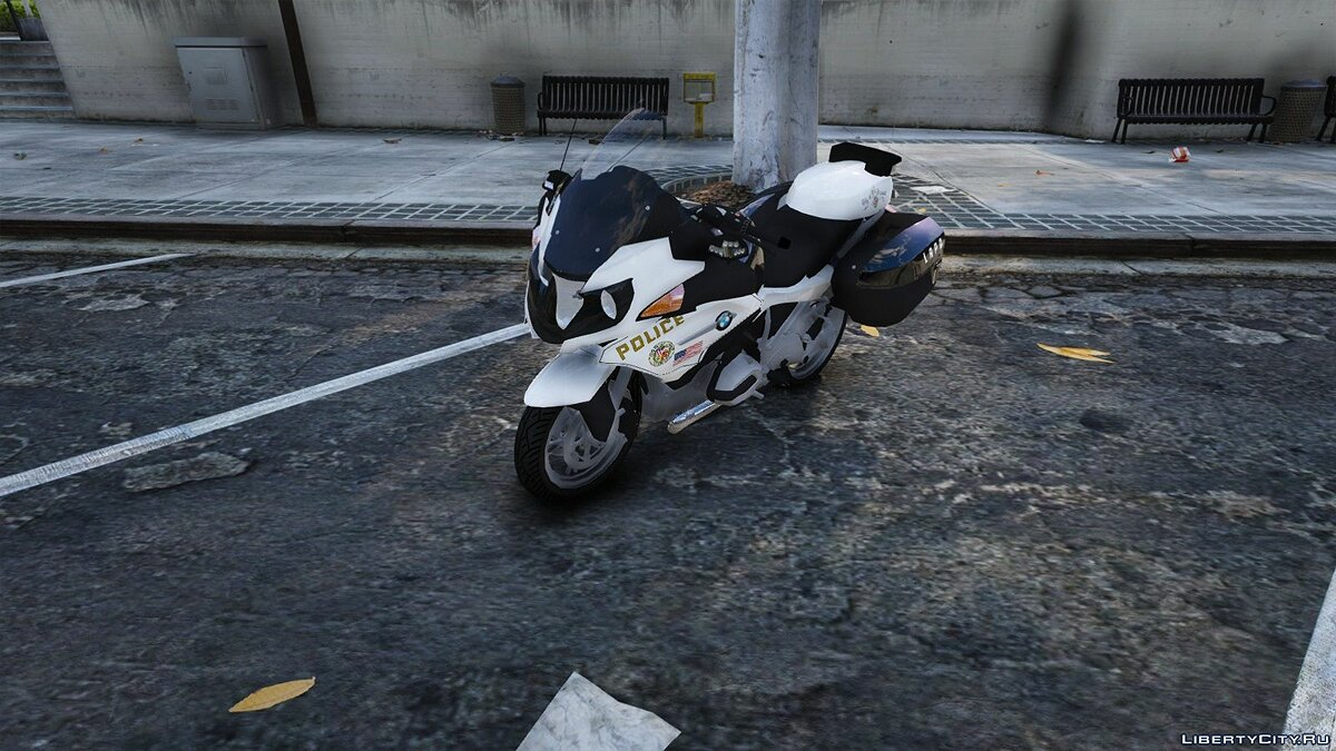LAPD BMW 1200RT (NO ELS) for GTA 5