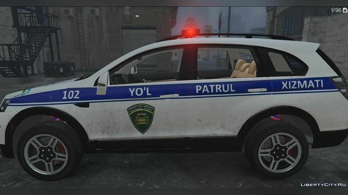 Police car Chevrolet Captiva 2 Police for GTA 5