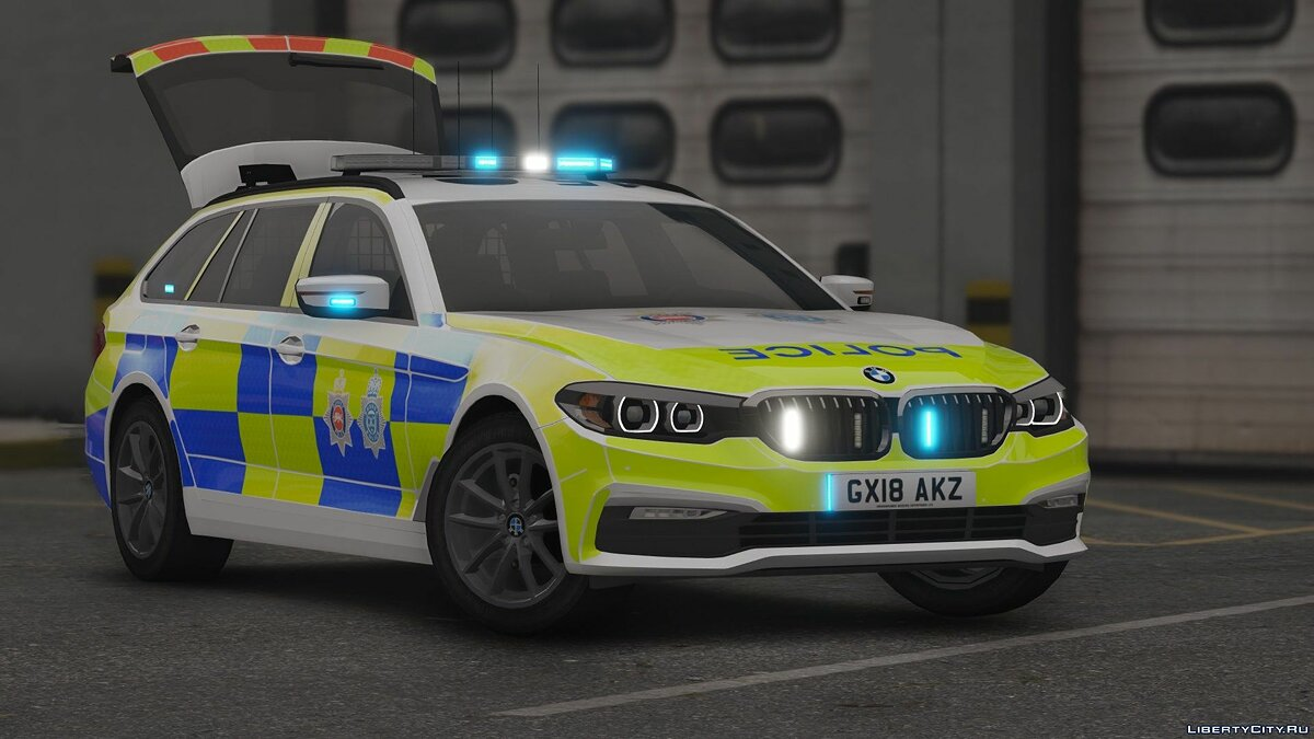 2018 Surrey / Sussex Police BMW 5 Series Touring [ELS] 1.0 for GTA 5