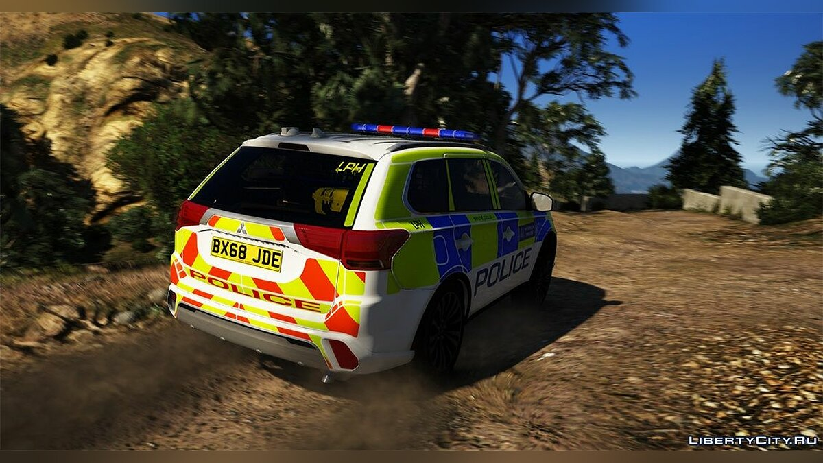 Police car 2018 Metropolitan Police Mitsubishi Outlander (Royal Parks + Response) 1.0 for GTA 5