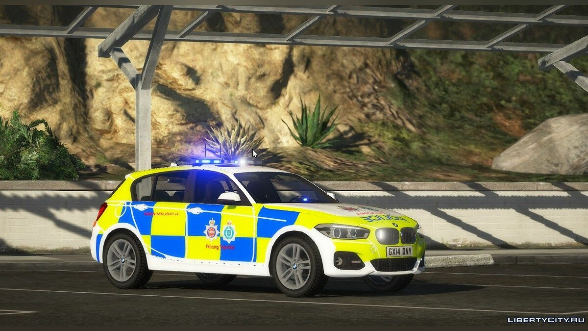 Police car Sussex Police RPU BMW 1 Series [ELS | REPLACE] 1.0 - Sussex County Police for GTA 5