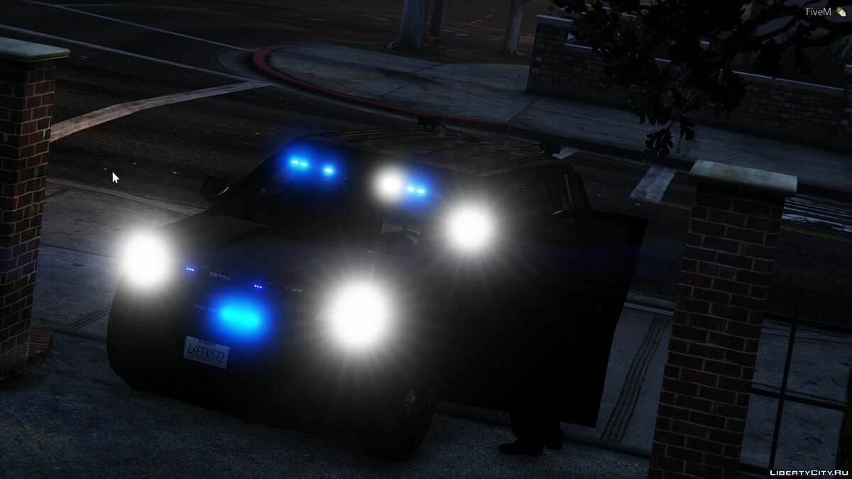 Police car 2016 Unmarked FPIU Revamped [ELS] [All Blues] 1.0 for GTA 5