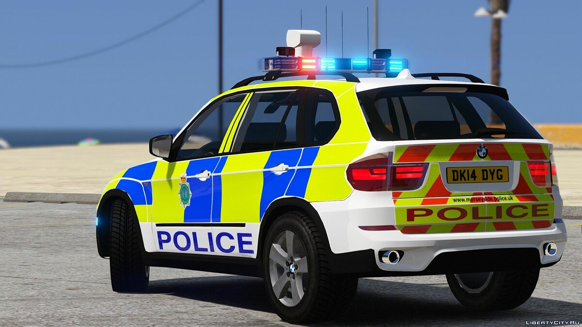 Police car Merseyside Police BMW X5 E70 1.0 for GTA 5