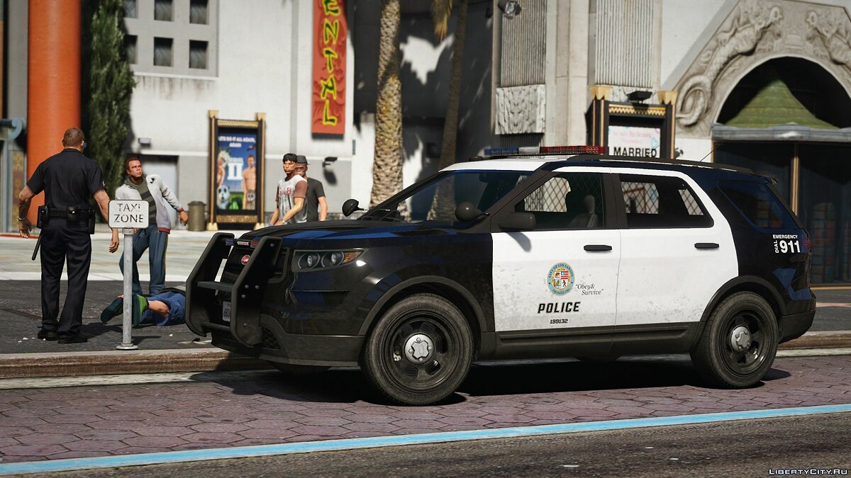 Police car 2012 Vapid Scout Police Utility [Add-on | Mapped] 1.0 for GTA 5