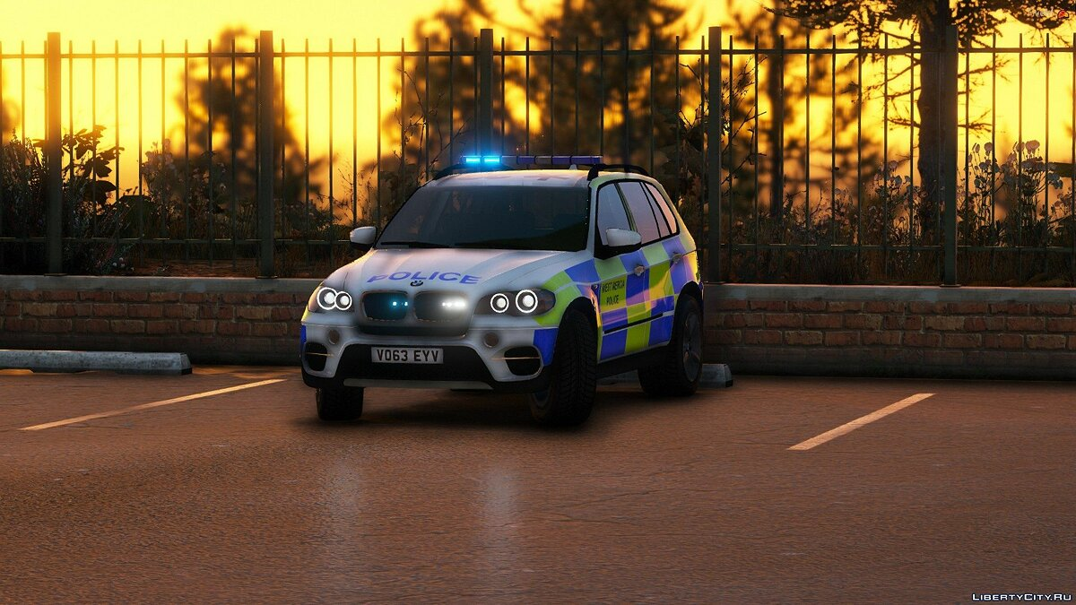 Police car West Mercia Police - BMW x5 e70 - ARV [ELS] 1.0 for GTA 5