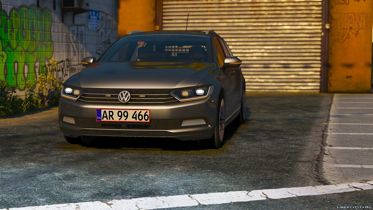 2015 Volkswagen Passat Variant - Unmarked Version - [ELS / REPLACE] 2.0 for GTA 5