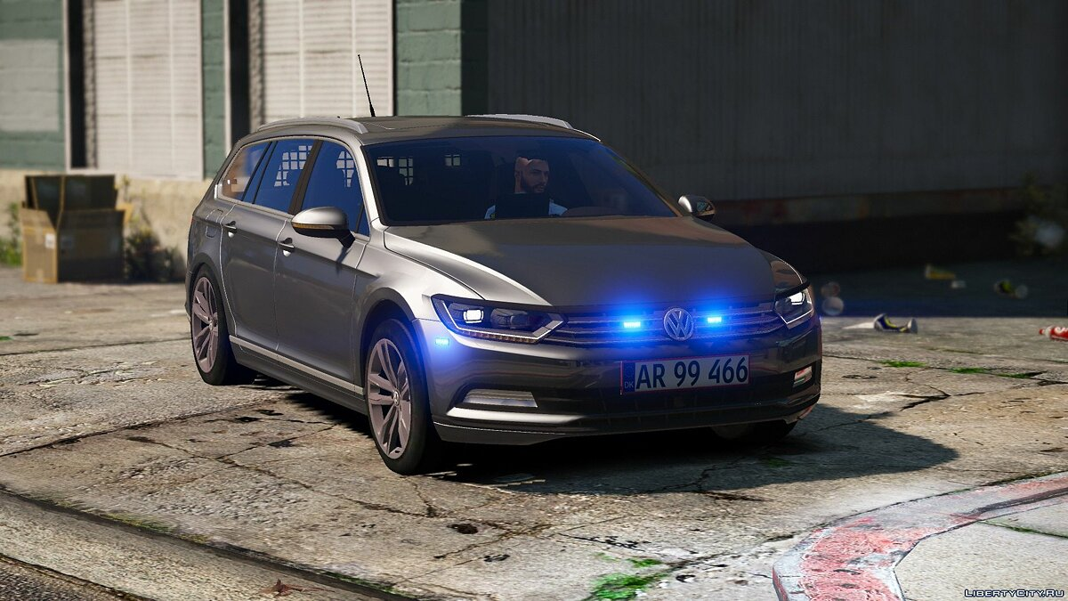 2015 Volkswagen Passat Variant - Unmarked Version - [ELS / REPLACE] 2.0 for GTA 5 - screenshot #5