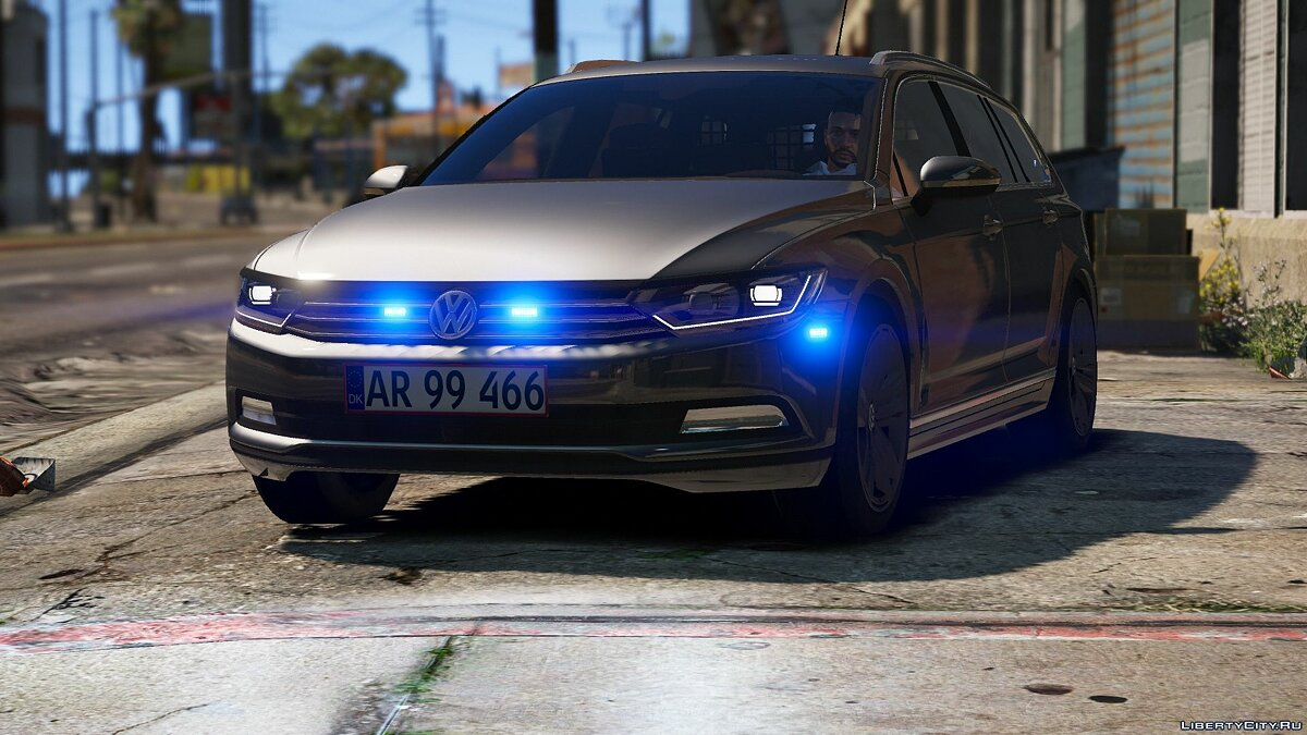 2015 Volkswagen Passat Variant - Unmarked Version - [ELS / REPLACE] 2.0 for GTA 5 - screenshot #6