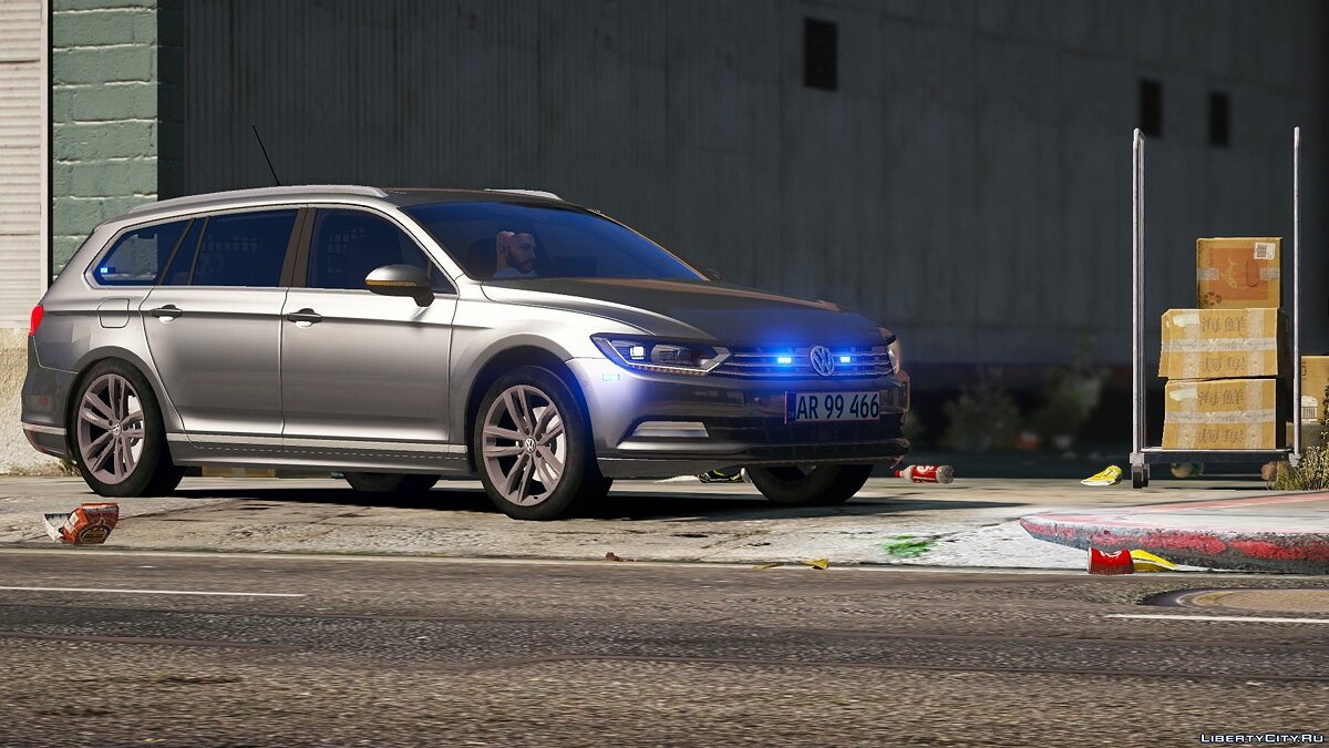 2015 Volkswagen Passat Variant - Unmarked Version - [ELS / REPLACE] 2.0 for GTA 5 - screenshot #7