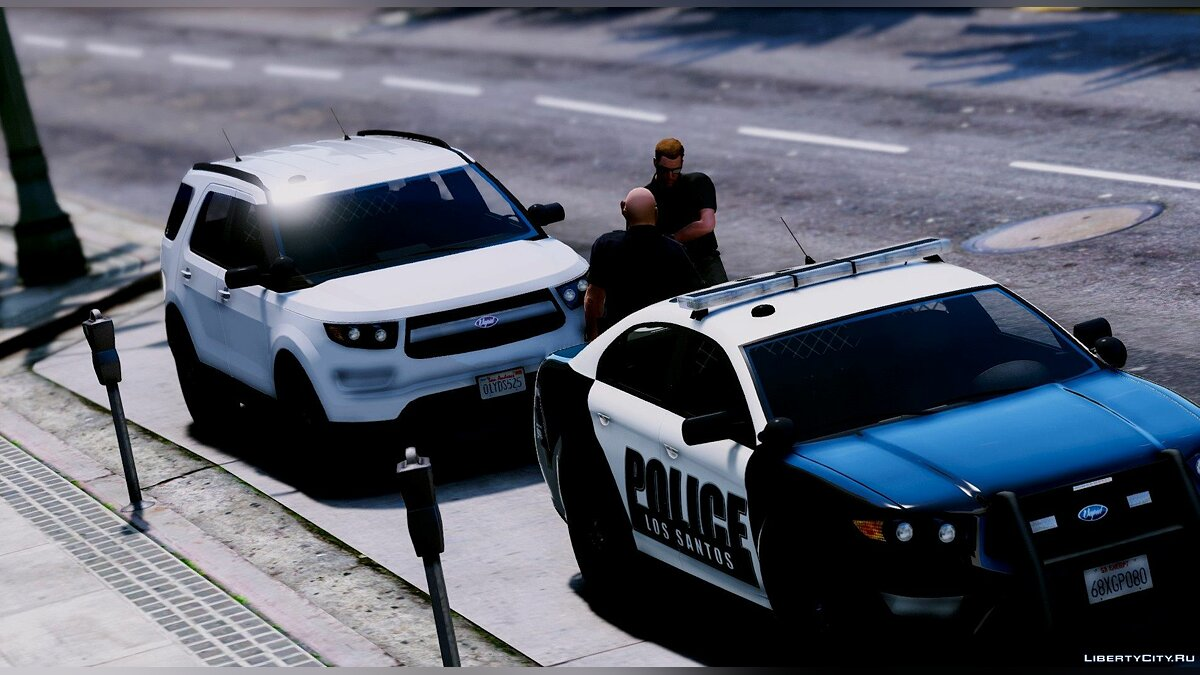 Police car Retired 2012 Vapid Scout Police Utility 1.0 for GTA 5