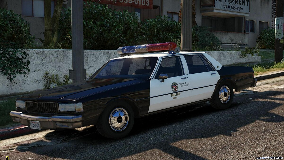 [ELS] 1990 Chevrolet Caprice 9C1 - Los Angeles Police Department 1.1 for GTA 5