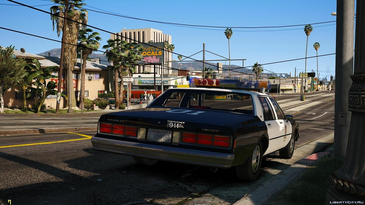 [ELS] 1990 Chevrolet Caprice 9C1 - Los Angeles Police Department 1.1 for GTA 5 - screenshot #2
