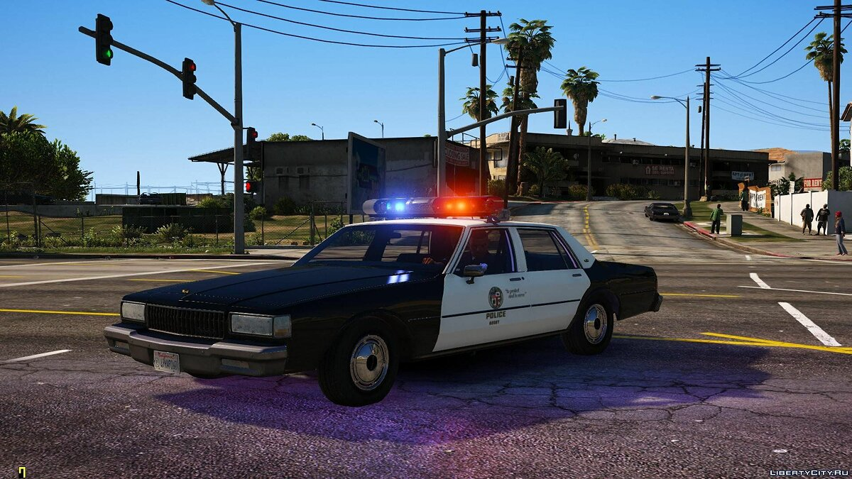 [ELS] 1990 Chevrolet Caprice 9C1 - Los Angeles Police Department 1.1 for GTA 5 - screenshot #4