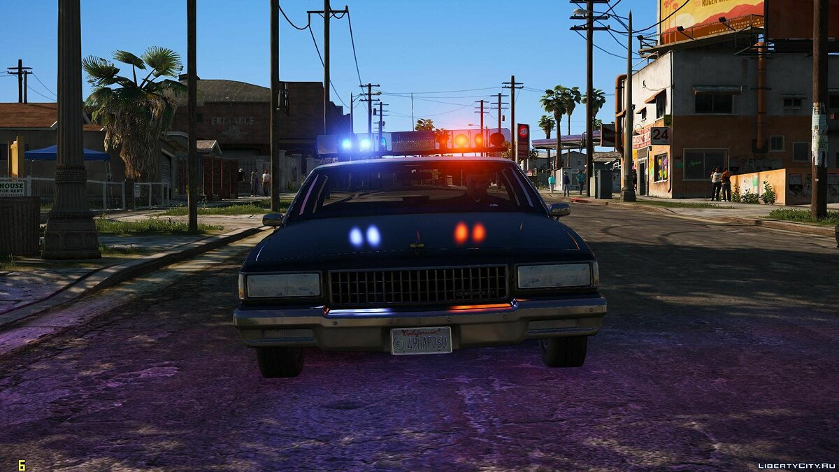 [ELS] 1990 Chevrolet Caprice 9C1 - Los Angeles Police Department 1.1 for GTA 5 - screenshot #5