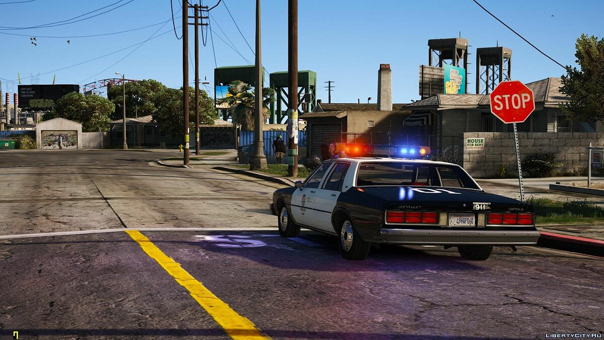 [ELS] 1990 Chevrolet Caprice 9C1 - Los Angeles Police Department 1.1 for GTA 5 - screenshot #6