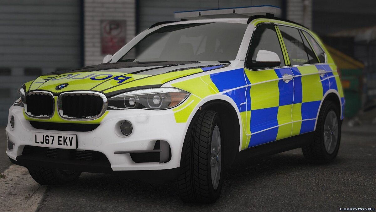 Police car BMW X5 Police Manchester for GTA 5