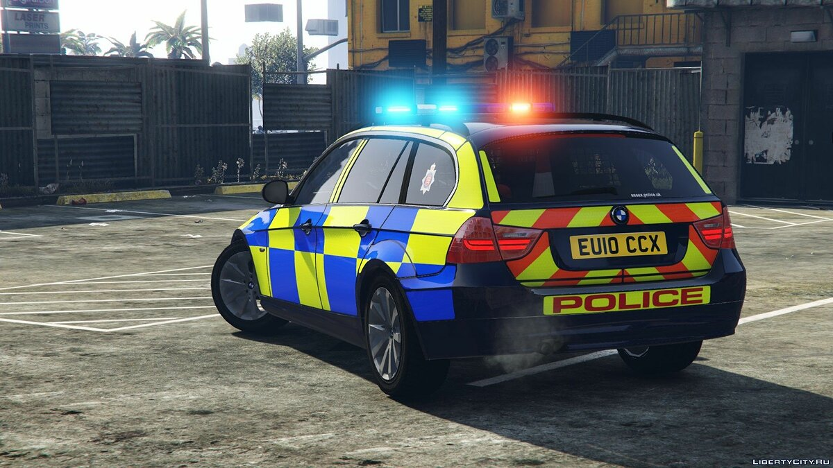 Police car 2008 Essex Police BMW 330d [Replace | ELS | Template] 1.0 for GTA 5