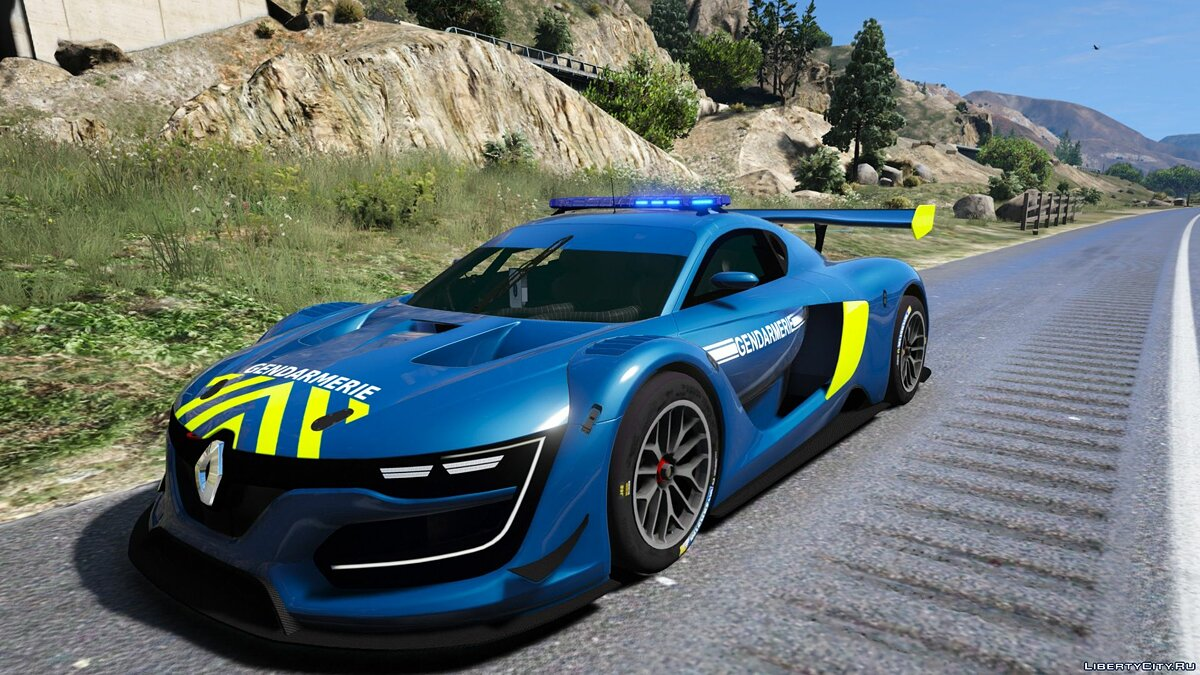 Renault RS 0.1 Gendarmerie 1.0 for GTA 5