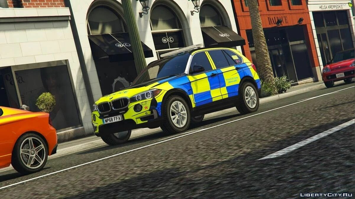 Police car Winshire Marked BMW X5 ARV [ELS | Replace] 1.0 for GTA 5