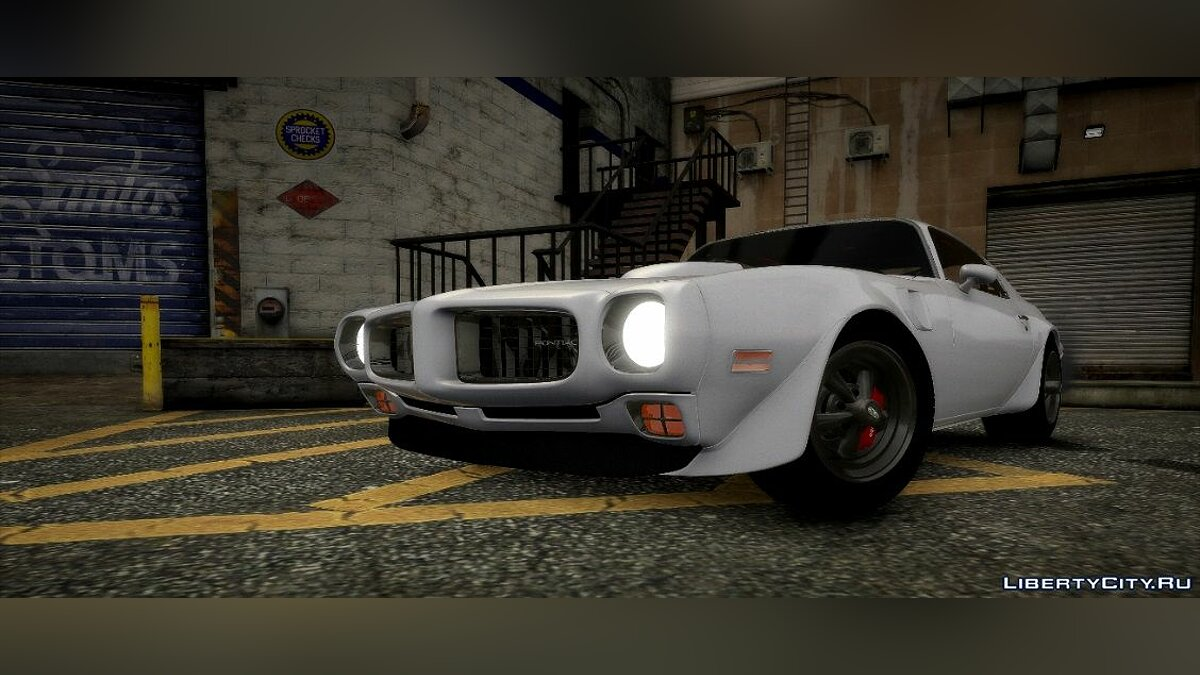 Pontiac car 1973 Pontiac Trans Am 1.2 for GTA 5