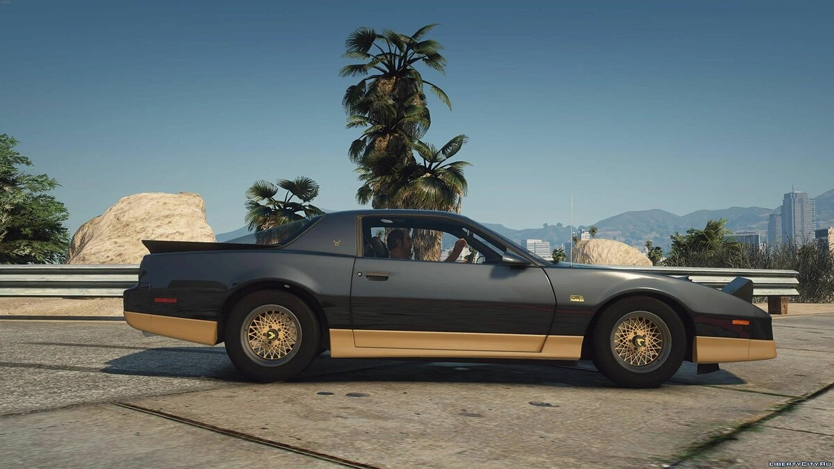 Pontiac car 1987 Pontiac Firebird Trans Am GTA [Add-On | LODs | Template | Script] 1.0 for GTA 5