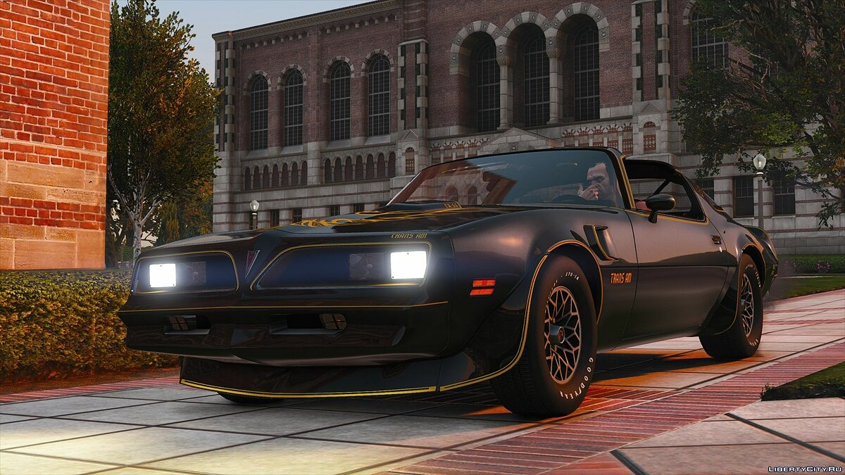 Pontiac car 1977 Pontiac Firebird Trans Am 1.1 for GTA 5